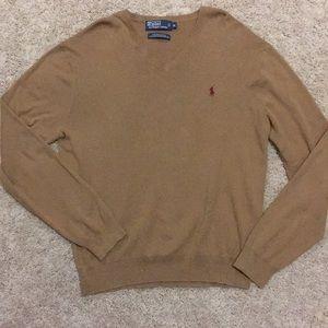 Polo Men's V Neck Sweater